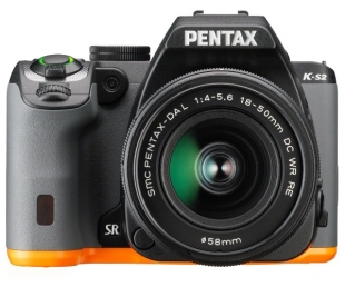 Pentax K-S2 Black/Orange + DAL 18-50mm WR