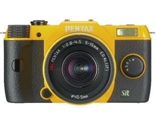 Pentax Q7 Yellow + 5-15mm