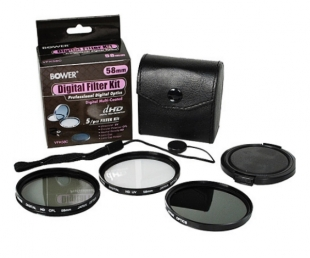 Bower Set UV, CPL, ND 58mm VFK58C