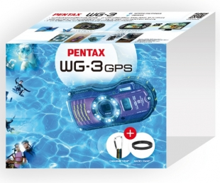 Pentax Optio WG-3 Green GPS kit