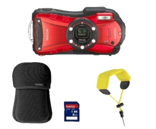 Ricoh WG-20 Red Kit