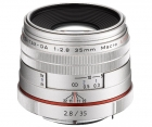 Pentax HD DA 35mm F2.8 Macro Limited Silver