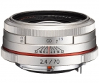 Pentax HD DA 70mm F2.4 Limited Silver