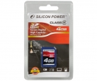 Silicon Power SDHC 4GB Clasa 6